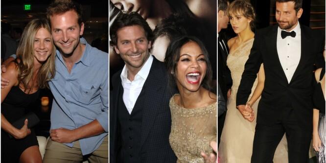 Her er alle damene Hollywood-stjernen har datet