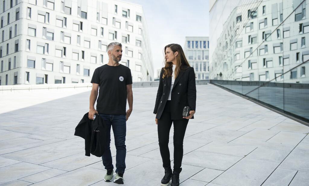 Leading roles: Nicolai Cleve Broch and Krista Kosonen. Photo by Carina Johansen