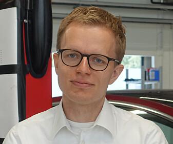 <strong>TESLA NORGE:</strong> Kommunikasjonssjef i Tesla Norge, Even Sandvold Roland, vil ikke kommentere saken. Foto: Christina Honningsvåg
