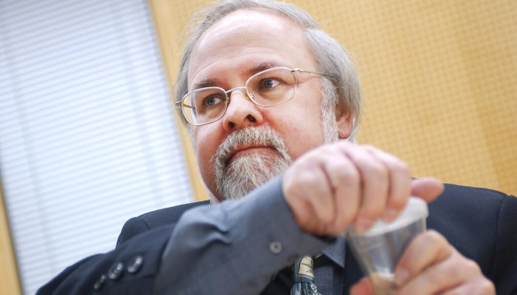 Tidligere stortingsrepresentant Jan Simonsen er død etter lengre tids kreftsykdom. Foto: Heiko Junge / NTB scanpix
