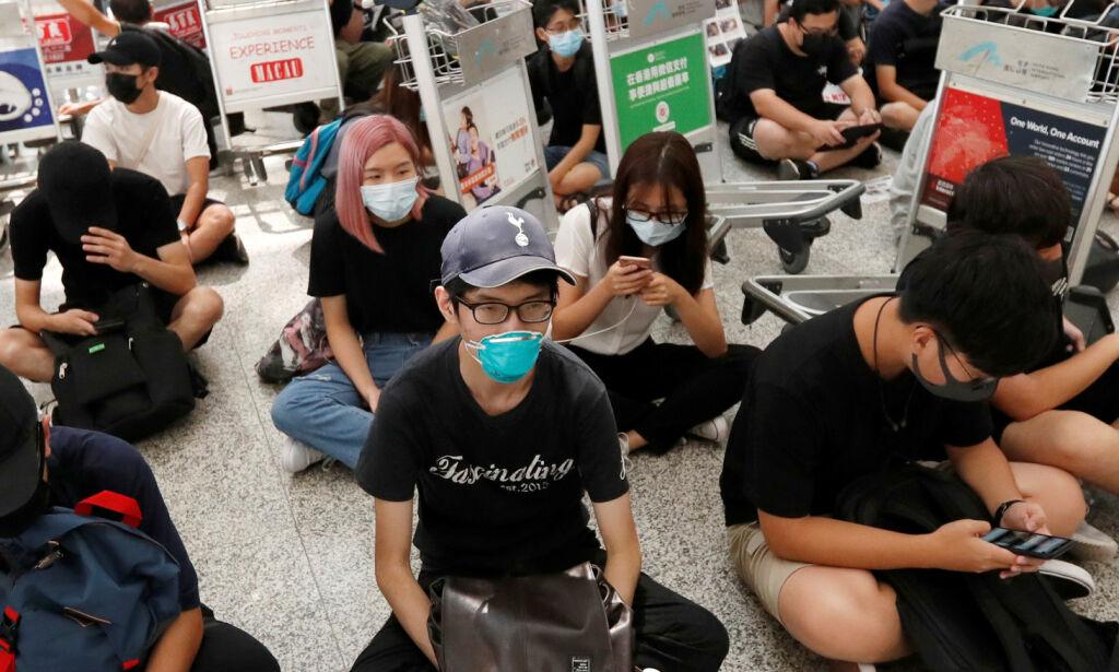 image: Hongkong-leder advarer: - Ikke dytt byen mot «avgrunnen»