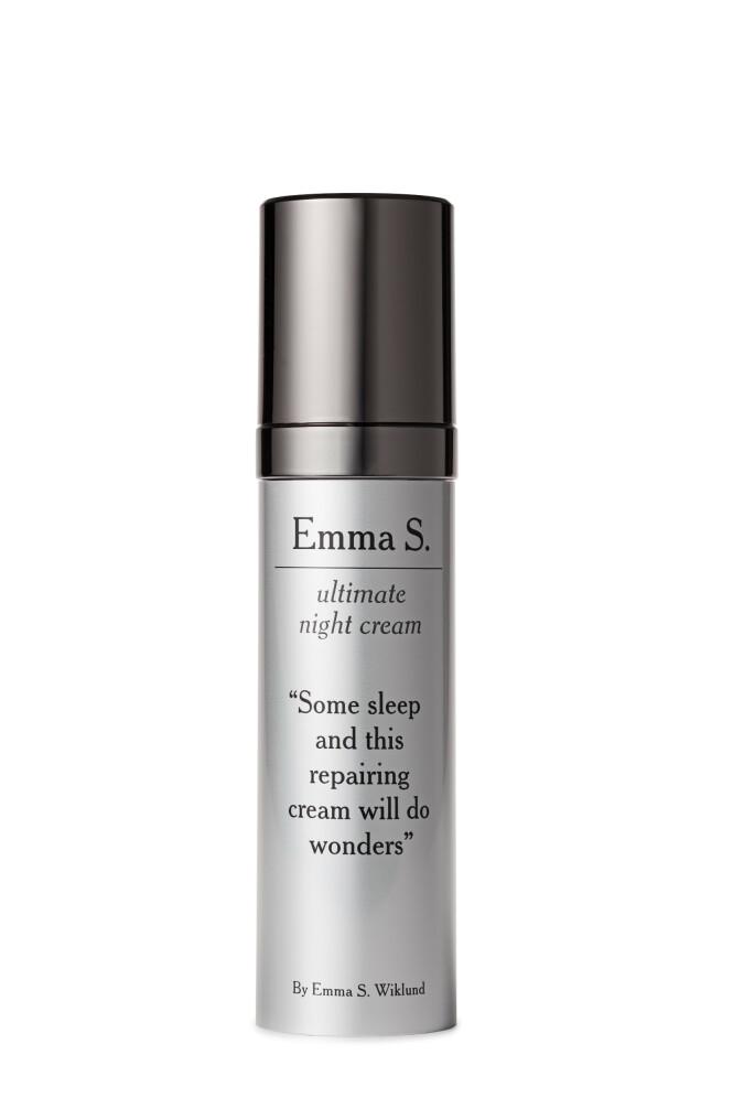 Nattkrem med vitamin A (kr 645, Emma S, Ultimate Night Cream). FOTO: Produsenten