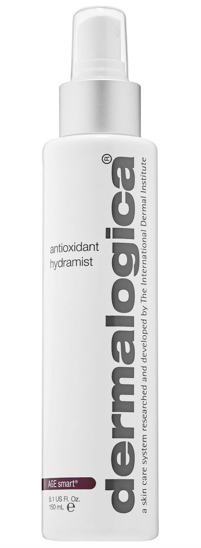 Mist med antioksidanter (kr 415, Dermalogica, antioxidant Hydramist). FOTO: Produsenten