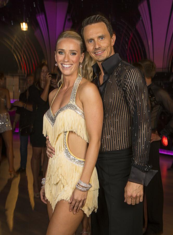 TRAVER: Da Katarina Flatland var med i 2015, danset hun med Tom-Arild Hansen. Nå skal han danse med Bahareh Letnes. Foto: Tor Lindseth / Se og Hør