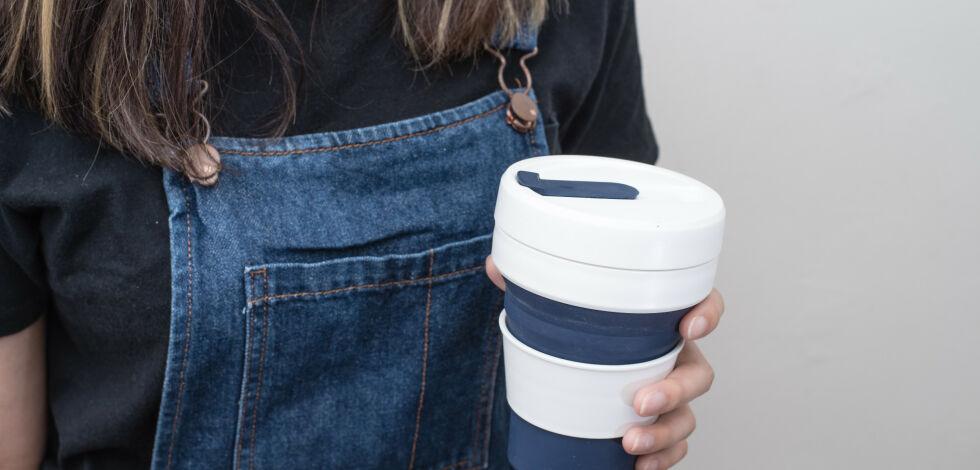 image: Rabatt på flyet med egen kopp