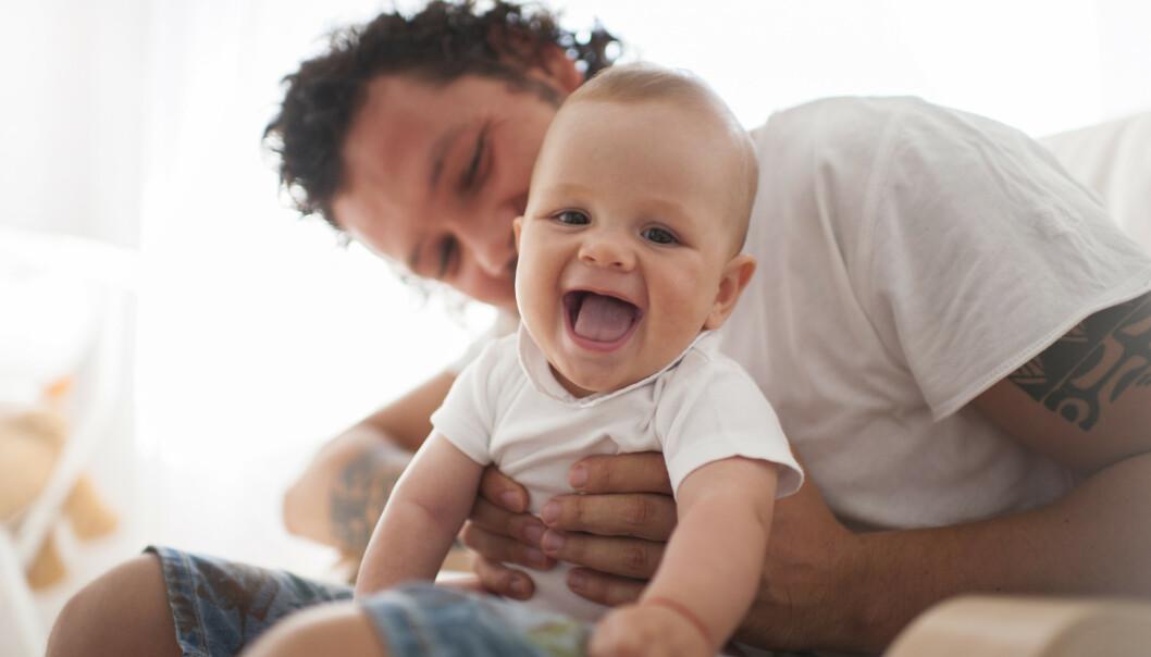 PÅVIRKES AV ALDER: Selv om menn kan bli fedre stort sett hele livet, så påvirker alderen også fruktbarheten hos menn. FOTO: NTB Scanpix