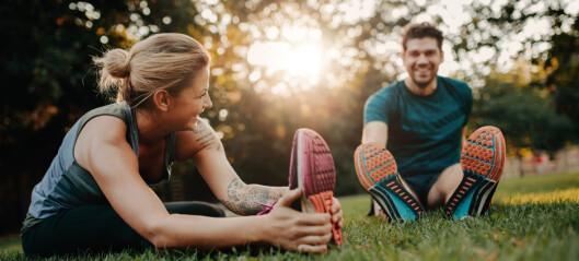 - Tøying hjelper ikke mot stølhet etter trening