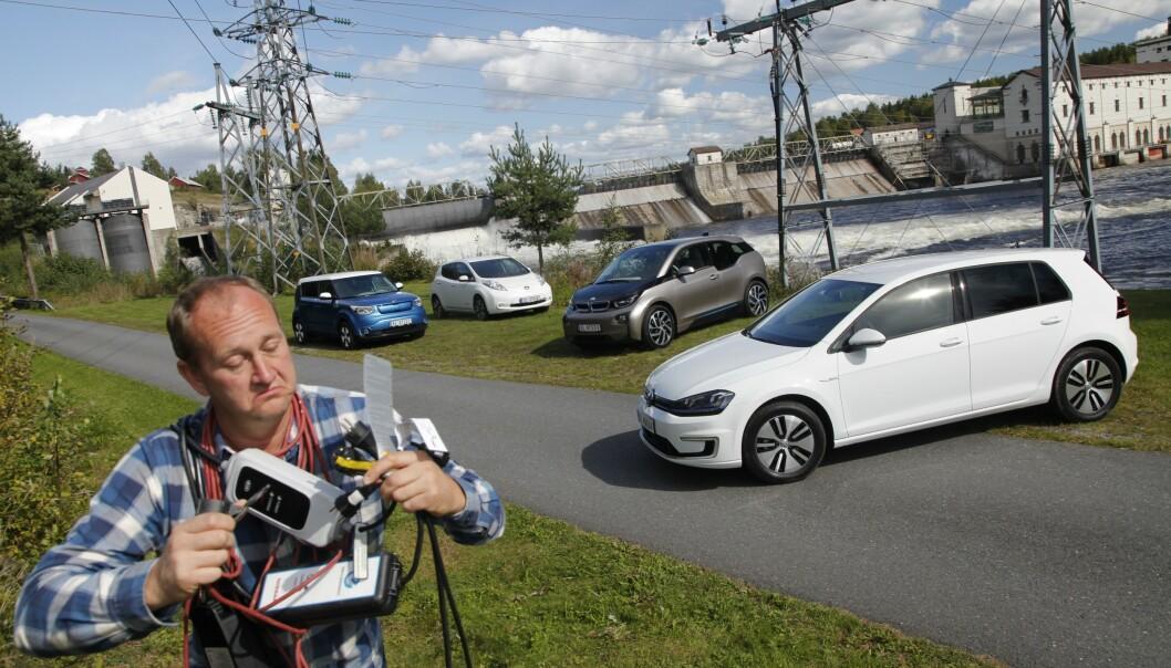 Derfor velger vi elbil - egentlig ...