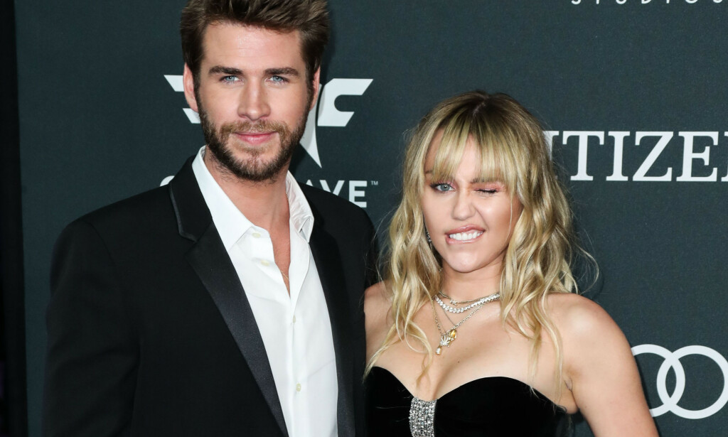 SEPARERT: Miley Cyrus (26) og Liam Hemsworth (29) giftet seg i desember 2018, men nå har de tatt ut separasjon.