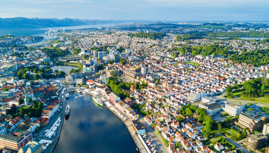 <strong>VANT:</strong> Stavanger vant prisen Norges Elbilhovedstad 2019. Foto: NTB Scanpix