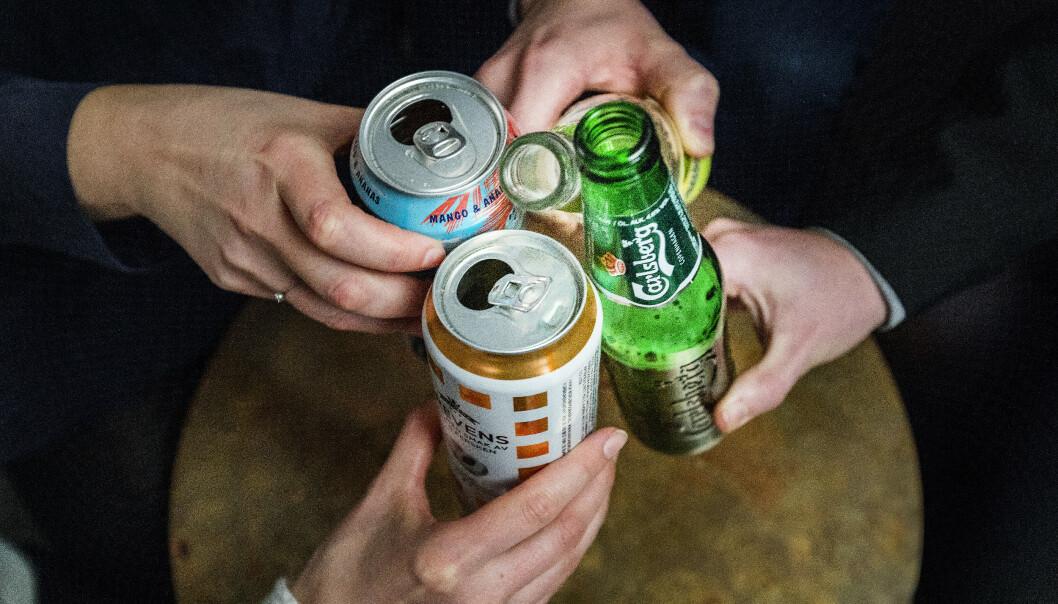 Så mange som tre av fire opplyser at de har venner som har vært borte fra jobb eller skole grunnet alkoholbruk dagen før. Illustrasjonsfoto: Gorm Kallestad / NTB scanpix