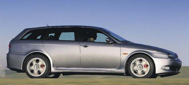 <strong>ALFA ROMEO 156 GTA SPORTWAGON:</strong> Produsert i 2001-2005, i 1678 eksemplarer. Foto: Simon Fox Syndication