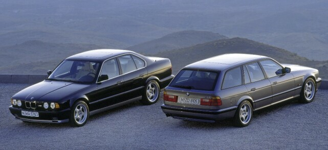 BMW M5 TOURING: Produsert i 1992-1995, i 891 eksemplarer. Foto: Simon Fox Syndication