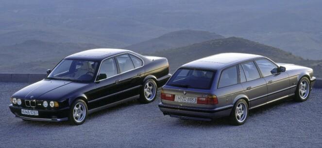 <strong>BMW M5 TOURING:</strong> Produsert i 1992-1995, i 891 eksemplarer. Foto: Simon Fox Syndication