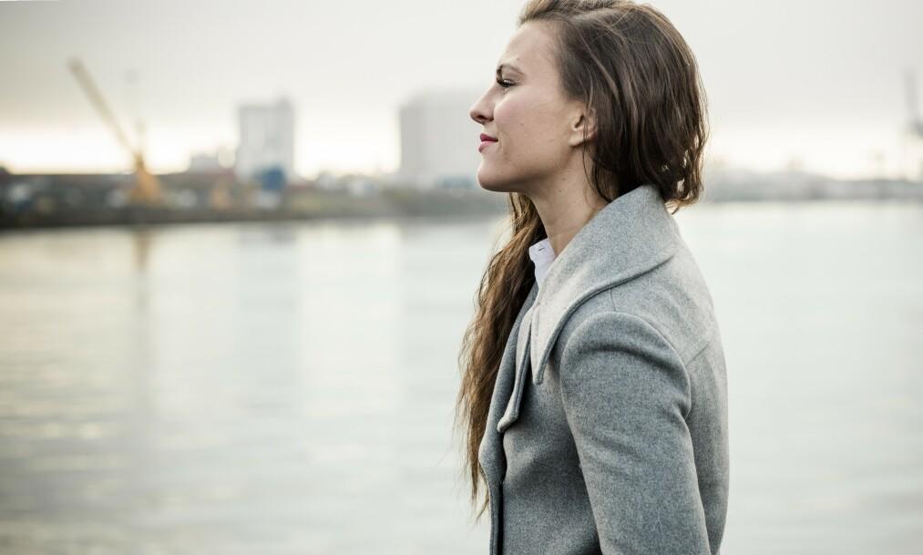 SER MOT STJERNENE: Lørdag kveld debuterer Katharina Thanderz for den store tyske promotoren Sauerland. Foto: Astrid Waller