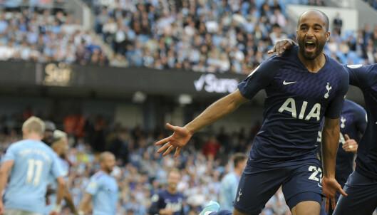 Sluttdrama da Tottenham holdt City til uavgjort