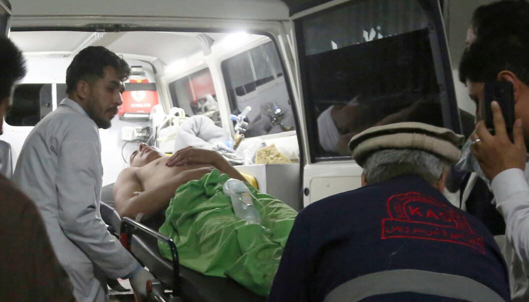 Bryllup ble til blodbad i Kabul – verste angrep i byen så langt i å