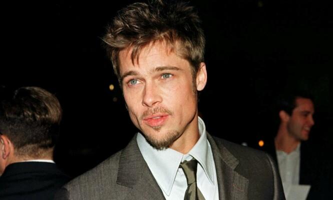 NØKTERN BAKGRUNN: Brad Pitt kommer fra en dypt religiøs familie i Missouri, og hadde en helt annen oppvekst enn det glamorøse livet han fikk som skuespiller. Her er han avbildet i 1998. Foto: NTB Scanpix