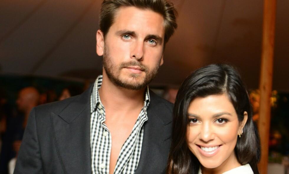 BITTER: Kourtney Kardashian og Scott Disick gikk fra hverandre i 2015 etter ni år sammen. Scott har i ettertid skjerpet seg kraftig, noe Kourtney syns er litt bittersøtt. Foto: NTB Scanpix
