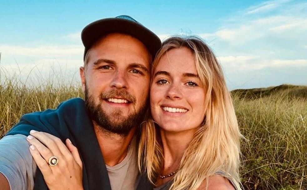 FORLOVET: Cressida Bonas har funnet lykken på ny med ekskjæresten Harry Wentworth-Stanley. Nå er paret forlovet. FOTO: Skjermdump // Instagram