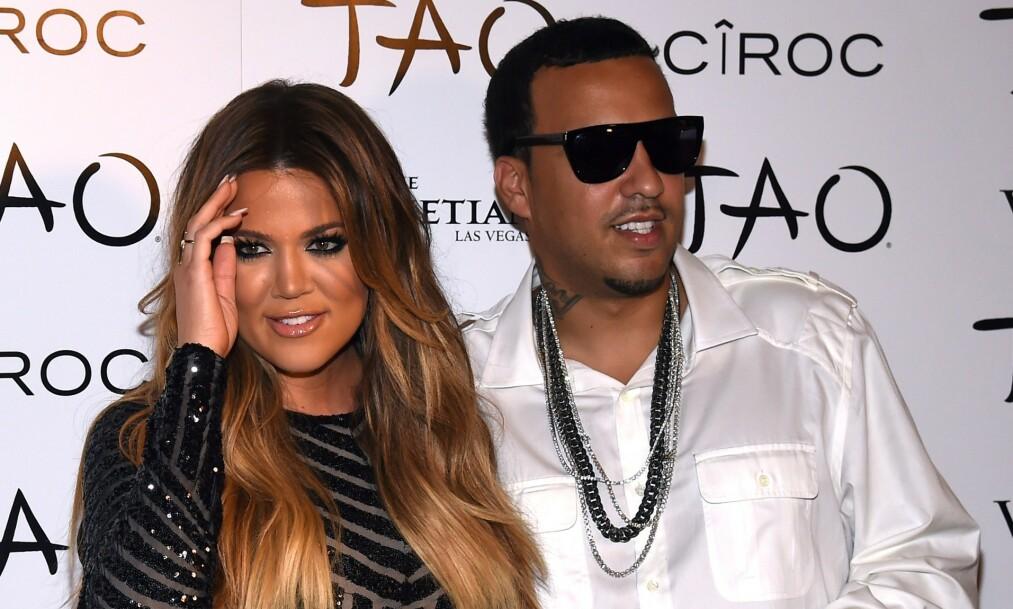 KORT FORHOLD: Khloé Kardashian og rapperen French Montana var sammen en kort periode i 2014. Foto: NTB Scanpix