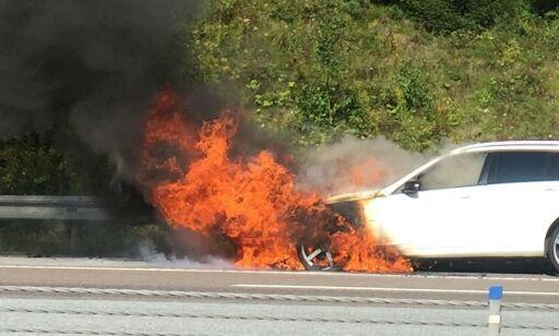 image: Dramatisk økning i antall bilbranner