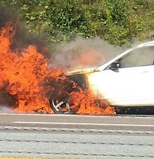 Dramatisk økning i bilbranner