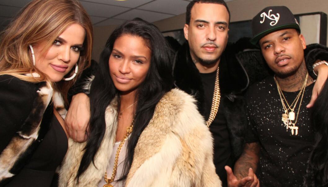 EKSKJÆRESTER: Khloé Kardashian og French Montana datet i et halvt års tid, og var ofte å se sammen. Foto: NTB Scanpix