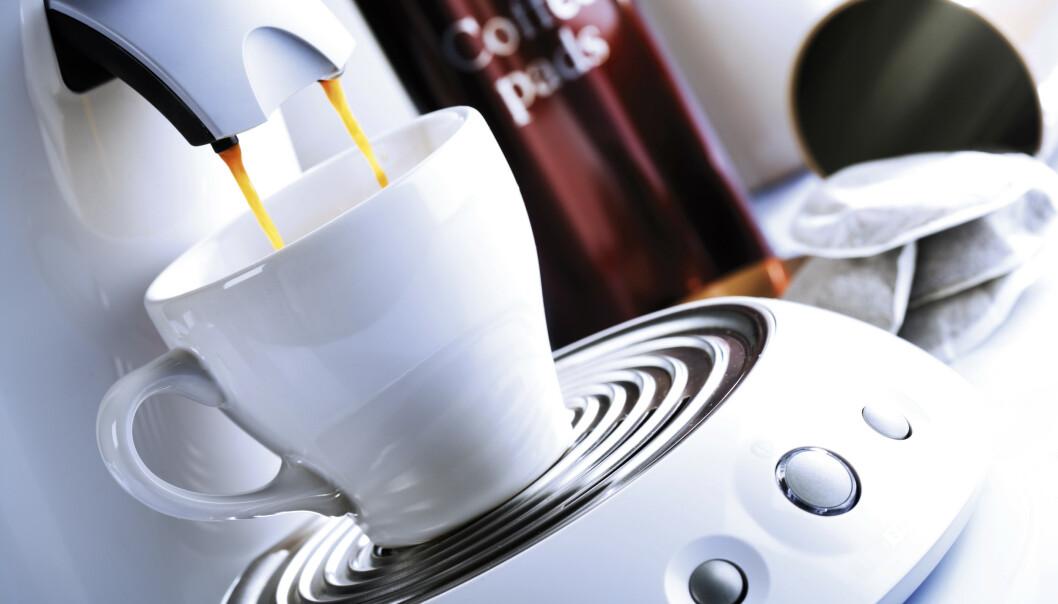 <strong>FØRST UTE:</strong> Kaffekapselmaskina er den første maskina som tar kvelden på kjøkkenet ditt, skal vi tro en undersøkelse fra britiske Which. Foto: Shutterstock/NTB scanpix