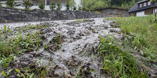 image: Varsler høljeregn og jordskredfare