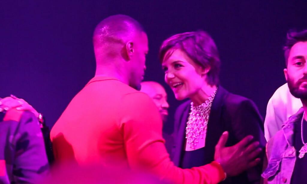 BRUDD: Jamie Foxx og Katie Holmes skal ha vært kjærester i seks år, men nå skal lykken ha tatt slutt. Foto: Splash News/ NTB scanpix