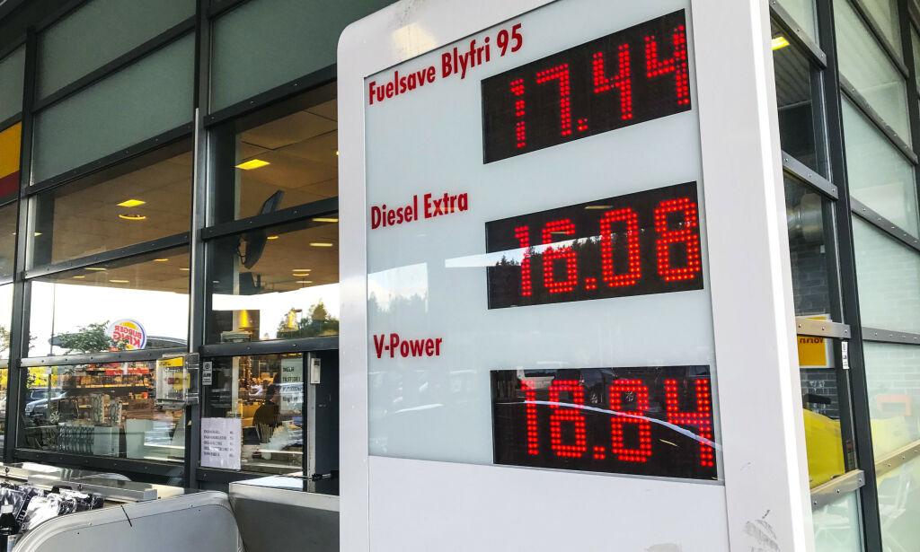 image: Nå stiger prisene på diesel og bensin