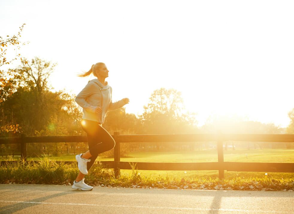KOM I GANG MED NYTT TRENINGSTØY: Det er ikke alltid like lett å komme i gang med treningen etter sommeren, men fresht treningstøy kan hjelpe på! Foto: Scanpix