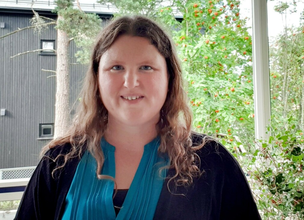 Ukas Koder Heidi Mork er overingeniør i NRK, og har blitt glad i mobb-programmering. 📸: Privat