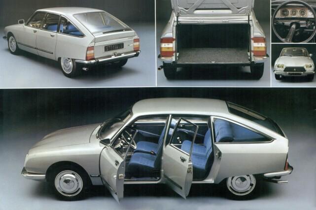 TYPISK: Strømlinjet og upyntet særpreg med store vinduer. Foto: Citroën