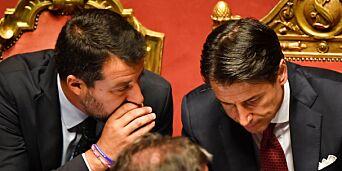 image: Statsministeren går av - Italia kastes ut i kaos