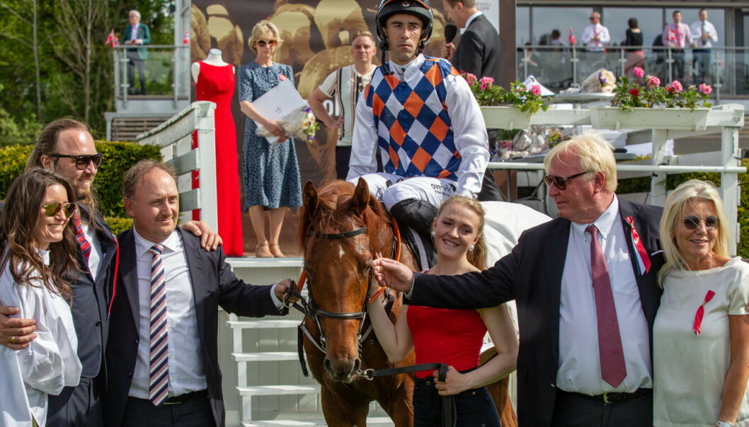 Rafael Schistl har avgitt positiv dopingprøve. Foto: Equus media / Eirik Stenhaug / NTB scanpix