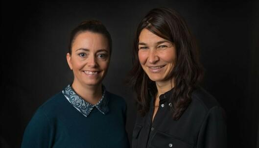 <strong>PSYKOLOGSPESIALISTER:</strong> Hanna Aardal og kollega Bente Austbø, som begge er psykologspesialister ved IPR. Foto: IPR.