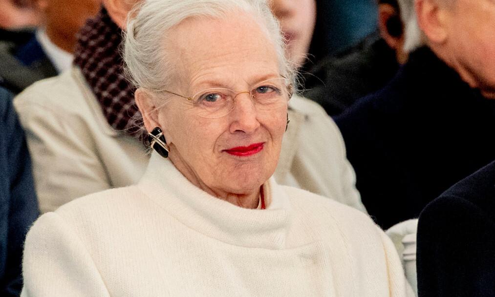FÅR IKKE BESØK: Dronning Margrethe hadde invitert president Donald Trump til Danmark, men han lar vente på seg. Det synes dronninga er overraskende. Foto: NTB scanpix