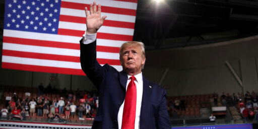 image: Trump er Keiseren uten klær