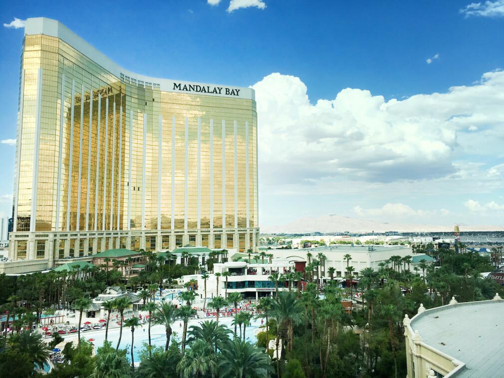 Her inne, i Las Vegas, satt norske Eivind Arvesen og hørte på årets Black Hat Briefings. 📸: Eivind Arvesen