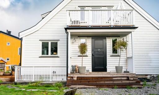 STØRRE: Husets areal har økt med 46 kvadratmeter.