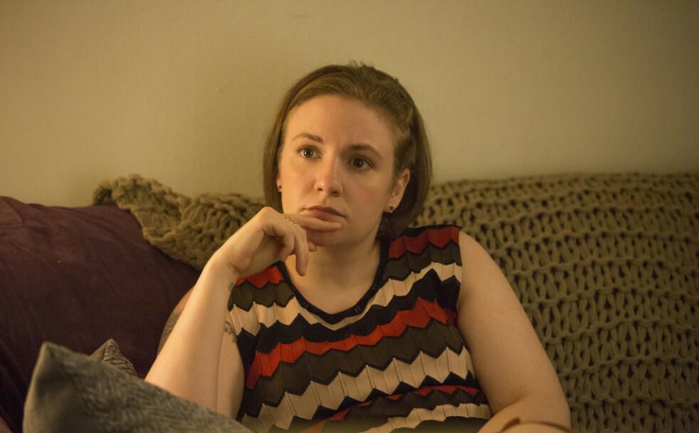 LENA DUNHAM: Best kjent som hovedpersonen Hannah i serien «Girls», viser fram leiligheten sin i en stor magasinreportasje. Og det ser ut som noe Hannah kunne tenkt seg å bo i, tenker vi. FOTO: HBO