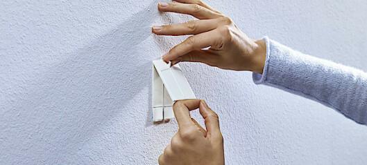 Slik velger du riktig festemetode - uten å lage stygge hull i veggen