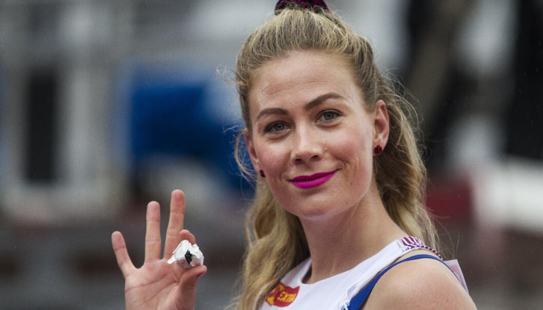 Isabelle Pedersen avslutter sesongen. Foto: Carina Johansen / NTB scanpix