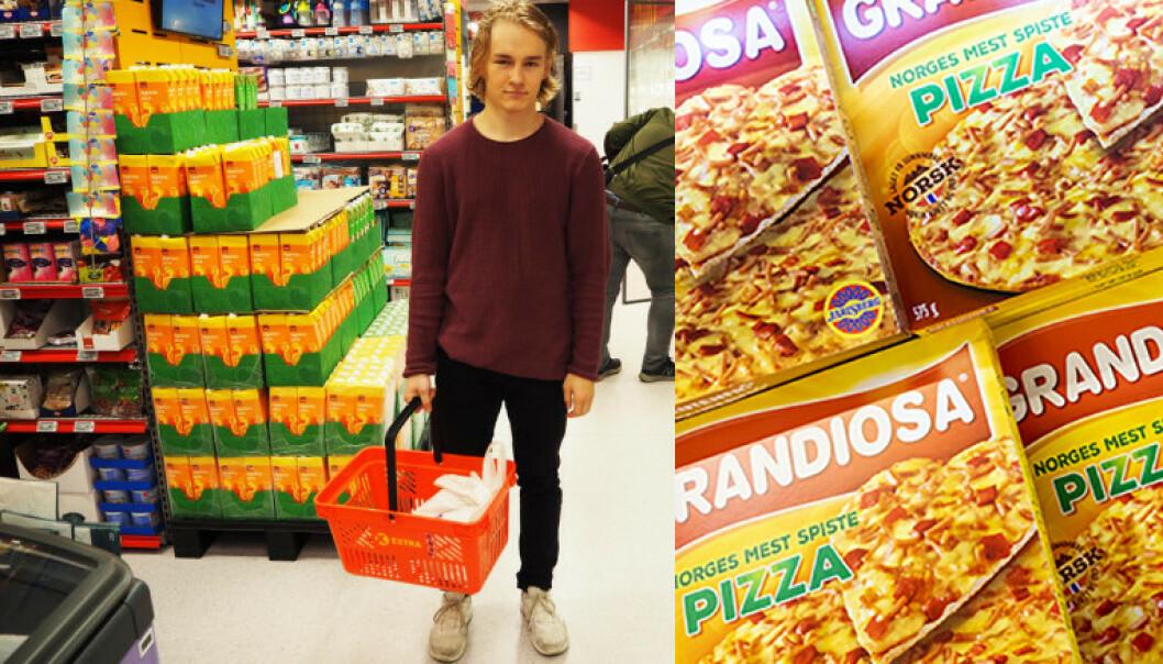 Nattåpen butikk: Gir Grandiosa-boost
