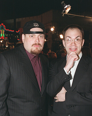 "PREMIERE: ""Wachowski-Brødrene"" under the premiere of ""The Matrix"" of 1999. Photo: Bei / Rex / Shutterstock / NTB Scanpix"