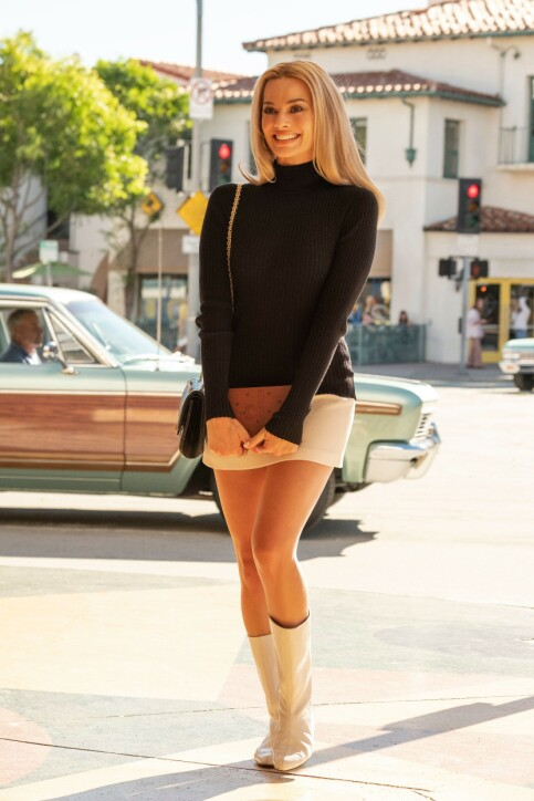 SKUESPILLER: Australske Margot Robbie spiller rollen som Sharon Tate i «Once Upon a Time in Hollywood». Foto: NTB Scanpix