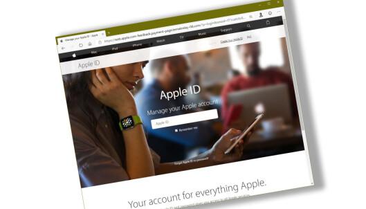 Apple-svindel «umulig» å oppdage