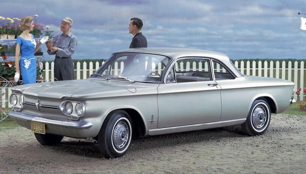 <strong>USIKKER:</strong> Chevrolet var usikker i alle hastigheter. Foto: GM